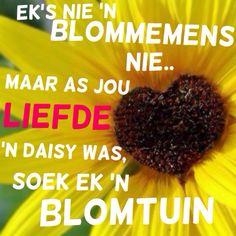 Blommetuin - Afrikaans