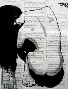 "Saatchi Art Artist Loui Jover; Drawing, ""chastity"" #art"