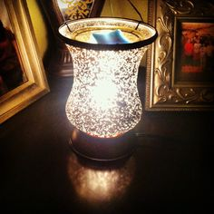 "I absolutely love my ""Cream Tulip"" warmer from Scentsy! Check out my website to order or view amazing deals. https://danis.scentsy.us/Scentsy/"