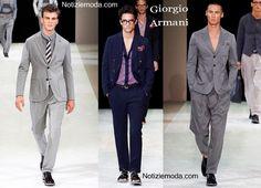 Abiti Giorgio Armani primavera estate moda uomo