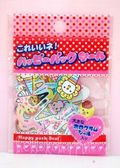 Lemon Co. Ice Cream happy pack of kawaii sticker sack flakes