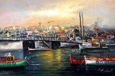 İstanbul Tabloları İST 019 http://es.pinterest.com/bernaaltundas/istanbul/