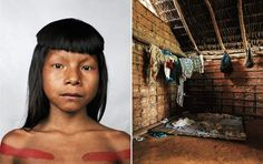 """""""Where Children Sleep""""-a book for a UNICEF anniversary. The photographer who authored it took pictures of children around the world and their bedrooms (or lack thereof). Looks very haunting and powerful."""