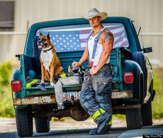 Firefighters Turn Up The Heat In This Smokin Calendar That Benefits Animals http://charlestonfirefightercalendar.com