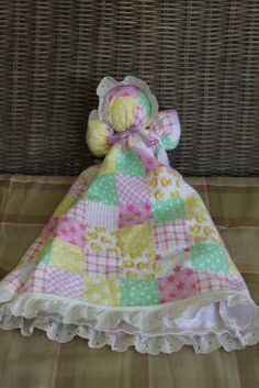 Pillowcase doll - with sew and no-sew variations for Operation Christmas Child shoeboxes