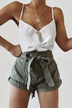 trendy summer outfits you'll love Weekly Outfits in ., trendy summer outfits you'll love Weekly Outfits Insider's guide to cute casual summer outfits you can wear every day this s. Trendy Summer Outfits, Cute Casual Outfits, Spring Outfits, Outfit Ideas Summer, Cute Summer Clothes, Casual Shorts, Summer Fashion Trends, Summer Clothing, Summer Trends