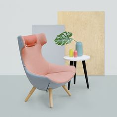 Alexander - Pantone colour of the year Living Coral. Classroom Furniture, School Furniture, Funky Furniture, Affordable Furniture, Office Furniture, Furniture Design, Soft Seating, Commercial Furniture, Color Of The Year