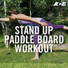 Get in shape on and off the stand-up paddle board (SUP) this summer with this SUP-specific workout. These exercises are great for warming up and strengthening the SUP muscles.
