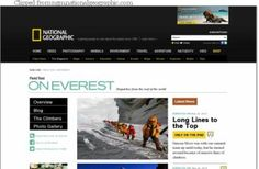 Storytelling: National Geographic uses Instagram on Mount Everest journey