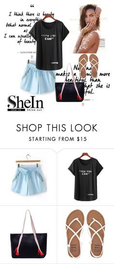 """""""Shein 1"""" by aida-1999 ❤ liked on Polyvore featuring Billabong"""