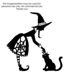 Pretty Witch pattern - Bing Images