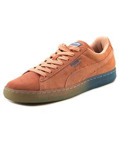 PUMA PUMA SUEDE CLASSIC PD   ROUND TOE CANVAS  SNEAKERS'. #puma #shoes #sneakers