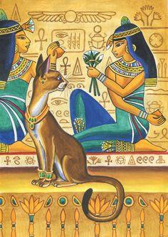 Egyptian Mythology, Egyptian Goddess, Egyptian Symbols, Egyptian Beauty, Egyptian Cats, Ancient Egypt Art, Ancient Artifacts, Ancient Aliens, Ancient Greece