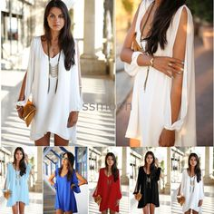 Sexy 2015 Women Summer Casual Sleeveless Party Evening Cocktail Short Mini Dress #Unbranded #DRESS #Casual