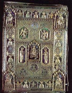 Gospel Cover, Boyar Fyodor Koshka. 1392. Jewelled Arts of Ancient Rus