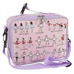A lovely, well designed lunch bag for girls who love ballet
