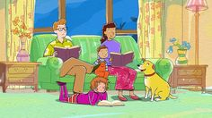 Developed to accompany the Martha Speaks television series, the Reading Buddies program is a cross-age literacy program to increase students' vocabulary, develop their self-esteem and social skills, and enhance their love of reading. Right In The Childhood, Childhood Tv Shows, My Childhood Memories, Sweet Memories, Early Childhood, Pbs Cartoons, Martha Speaks, Reading Buddies, Pbs Kids
