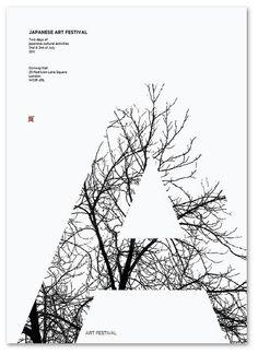 Tree Typography...