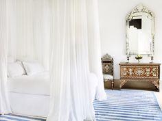Luxury Riad Marrakesh Medina L'Hotel Marrakech Morocco Hotel, Marrakech Morocco, Morocco Travel, Tangier, Le Riad, Shabby Chic, Jasper Conran, Bed Curtains, Tadelakt