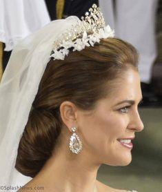 whatkatewore:  Wedding of Princess Madeleine and Chris O'Neill-June 8, 2013