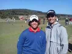 Mario Galiano and Víctor García. First day of the Spanish International #Amateur Open Copa SM El Rey at La Reserva Golf Club, #Sotogrande (#CostaDelSol, Spain) #golf https://www.facebook.com/joinsotoluxury