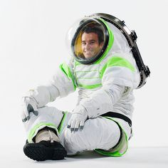 Z-1 Prototype Spacesuit - David Clark Co - new-nasa-spacesuit