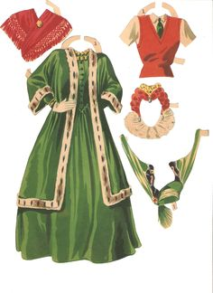 Bette Davis paper doll set from 1942. Description from missmissypaperdolls.blogspot.ch. I searched for this on bing.com/images