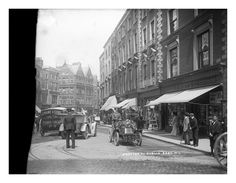Grafton Street in all its glory by National Library of Ireland on The Commons, Dublin circa Dublin Street, Dublin City, Old Pictures, Old Photos, Grafton Street, Irish Catholic, Ireland Homes, Dublin Ireland, Vintage Photographs