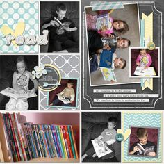 Reading Layout using our Charmed Collection