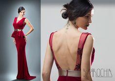 evening velvet dress