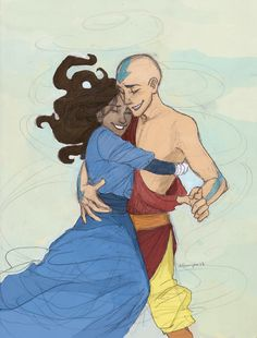 Aang & Katara | The Last Airbender | Avatar