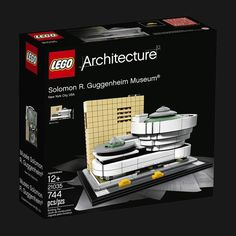 LEGO Architecture Solomon R. Guggenheim Museum is part of the LEGO Architecture series. LEGO Architecture Solomon R. Guggenheim Museum contains 744 pieces, building instructions and extensive historic archival material.