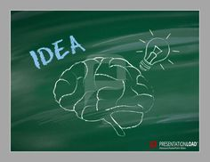 A creative way of presenting new ideas with #chalkboard graphics.