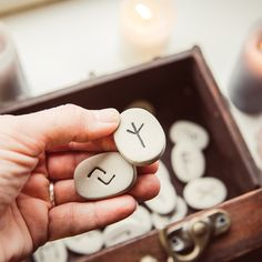 Interested in runes? Try runecasting for yourself, using our complete guide to each rune and its meaning, in today's article. Rune Tattoo, Witch Tattoo, Norse Tattoo, Viking Tattoos, Tattoo Ink, Arm Tattoo, Wiccan Runes, Celtic Runes, Elder Futhark Runes