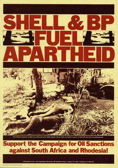 Not sure if this *is* by David King, but it's certainly in his style and he did produce posters for the Anti-Apartheid Movement. Apartheid, Visual Communication, South Africa, Fiction, David, King, Movie Posters, Design, Style