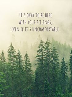 Sometimes it's uncomfortable to feel what we're feeling. We might avoid what we're feeling because we might be scared that we'll be stick there forever. Email me if you want in on some of my offers. MargaretCWang@ThriveAndFeel.com #feelingsarentfacts #feelingsquotes #lawofattraction #selflove #loveyourself #anxietyquotes #lettinggo #acceptancequotes