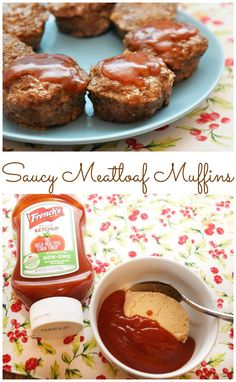 Looking for an easy weeknight meal? Make meatloaf quicker in muffin tins with these Saucy Meatloaf Muffins, including our favorite yummy 2-ingredient sauce to top them! #KetchupWithFrenchs #ad