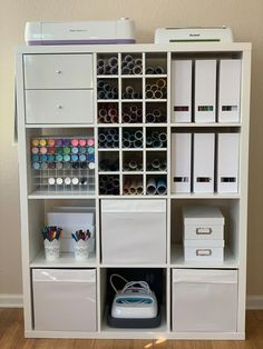 #craftactivitiesforhome Craft Room Storage, Ikea Craft Room, Small Craft Rooms, Craft Room Decor, Cricut Craft Room, Craft Organization, Diy Home Decor, Scrapbook Room Organization, Craft Storage Ideas For Small Spaces