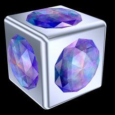 Gemstone Cube