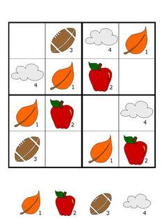 mevsimler sudoku etkinliği