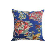 Capa Almofada Tuly Azul – Ethnix  Não contém enchimento  Tamanho: 45 x 45  Cor: azul  Ref: FL_016515