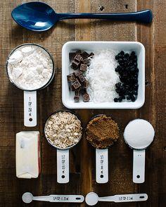Blueberry Coconut Dark Chocolate Cookies by Stephanie Le | west elm