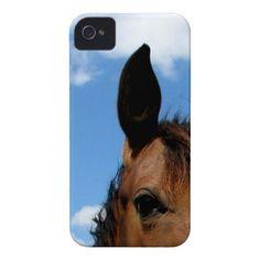 Horse eye iPhone 4 case