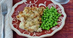 This easy chicken stuffing bake recipe is delicious, hearty, comfort food. It's the perfect freezer meal for those cool nights in the fall.