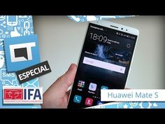"""Hands-on: Huawei Mate S Luxury traz função """"force touch"""" - YouTube"""