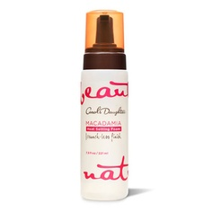 achieve that wavy just-came-from-the-beach hair with MACADAMIA HEAT SETTING FOAM