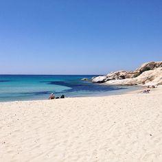 Mikri vigla beach, Naxos