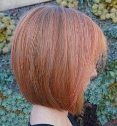 Rose Pink Straight Bob
