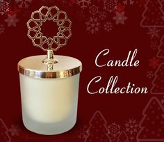 Cinnamon Scented Candle Tarçın Kokulu Mum Hiref Candle Collection www.hirefstore.com