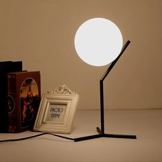 Led Table Lamps Led Lamps Self-Conscious Table Lamp Led Bedlamp Bedroom Living Room Acryl Desk Lamp Bedside Lamp Shade Table Light Night Reading Home Abajur Lamparas De